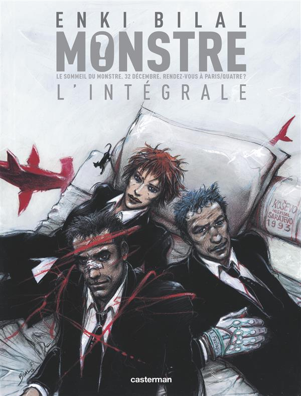MONSTRE ( INTEGRALE ) BILAL ENKI CASTERMAN